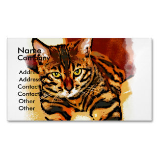 CATITUDE MAGNETIC BUSINESS CARD