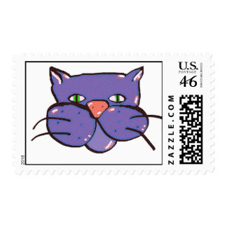 catitude postage stamps