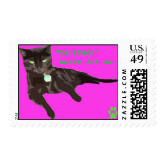 """""""Catitude"""" works for me! Postage"""
