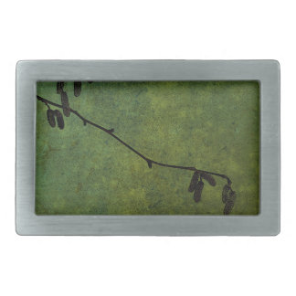 Catkins Rectangular Belt Buckle
