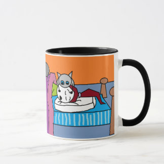 Catlady Sleeps Mug
