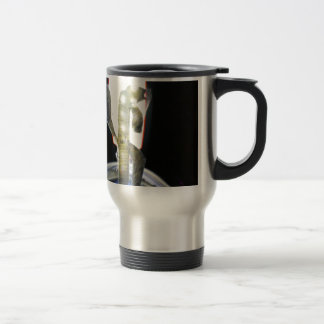 catlike humanoid that came through the transport 15 oz stainless steel travel mug