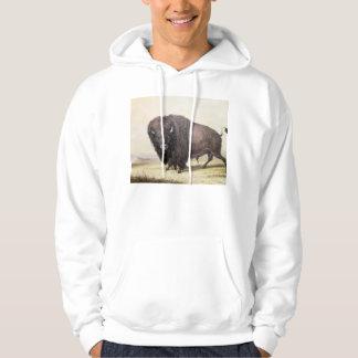 Catlin Native American Art Hooded Pullover