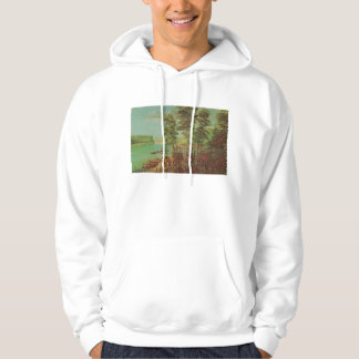Catlin Native American Art Hooded Sweatshirt