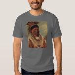 Catlin Native American Art T-shirt