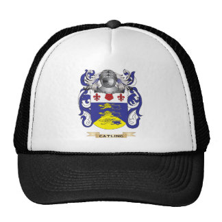 Catling Coat of Arms Mesh Hats