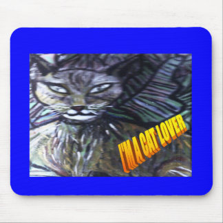 catlover mouse pad
