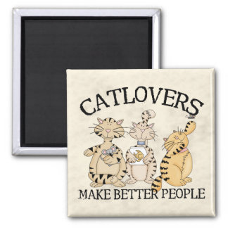 Catlovers Imán Cuadrado