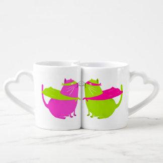 Catman Love Mugs! Coffee Mug Set