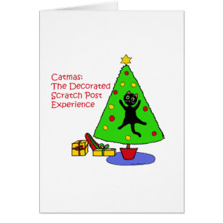 Catmas Experience Greeting Card
