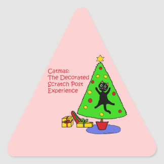 Catmas Experience Triangle Sticker