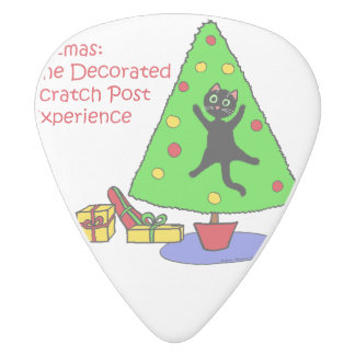 Catmas Experience White Delrin Guitar Pick