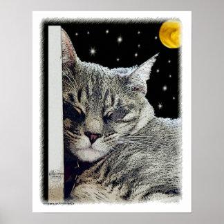 """""""Catnap"""" Canvas Print"""