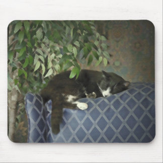Catnap el dormir, gatito Mousepad del gatito Alfombrilla De Ratón
