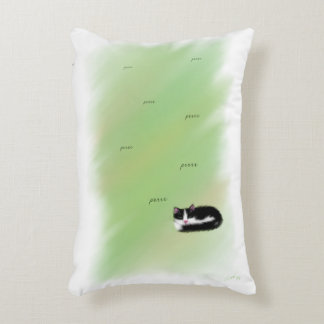 Catnap Kitten Accent Pillow