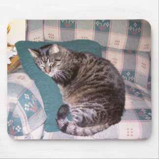 Catnap Kitty Mouse Pad