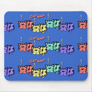 CatNap-Mouse Pad Mouse Pad