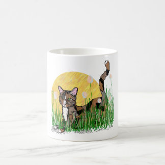 Catness Classic White Coffee Mug