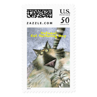 CatNeuter, National, Cat Neutering Day Postage