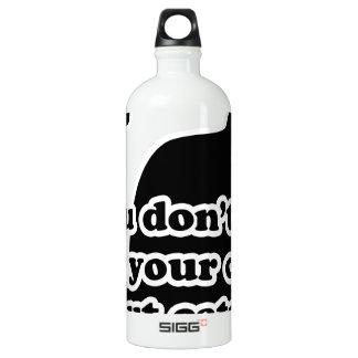 Catnip Aluminum Water Bottle