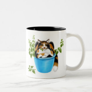 Catnip Chomping Calico Mug