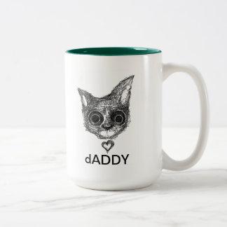 catNIP dADDY Two-Tone Coffee Mug