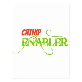 Catnip Enabler Postcard