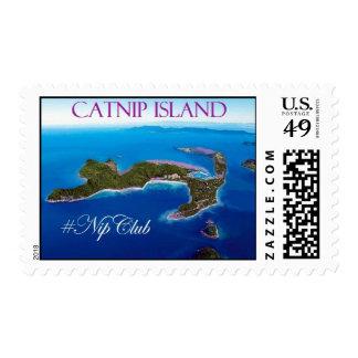 Catnip Island Stamps