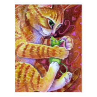 Catnip Mouse Postcard