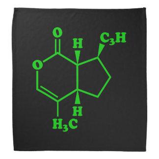 Catnip Nepetalactone Molecular Chemical Formula Bandana