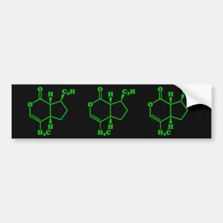 Catnip Nepetalactone Molecular Chemical Formula Bumper Sticker