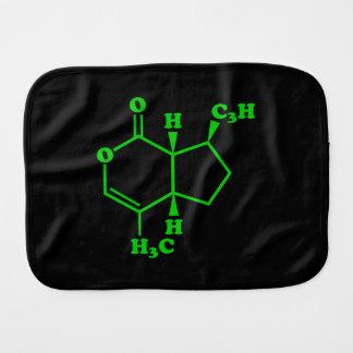 Catnip Nepetalactone Molecular Chemical Formula Burp Cloth