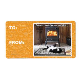 Catnuts roasting label
