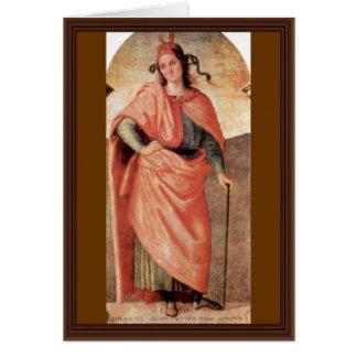 Cato By Perugino Pietro (Best Quality) Card
