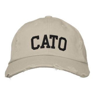 Cato Embroidered Hat Embroidered Hats