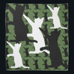 """Catoflauge Bandana<br><div class=""""desc"""">It&#39;s camouflage with cats. The ultimate disguise.</div>"""