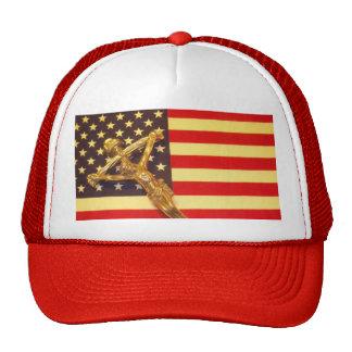 Catolic Cristo sobre el gorra del condado