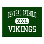 Católico central - Vikingos - alto - Allentown Tarjetas Postales