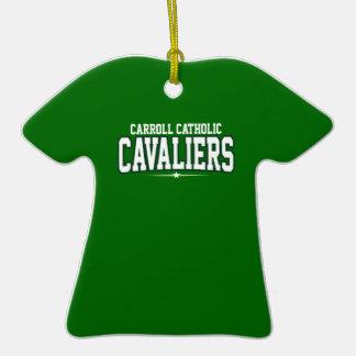 Católico de Carroll; Cavaliers Adornos De Navidad