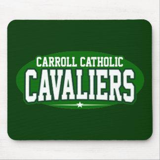 Católico de Carroll; Cavaliers Alfombrillas De Ratones