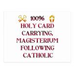 ¡Católico del 100%! Postal