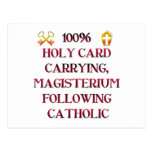 ¡Católico del 100%! Tarjeta Postal