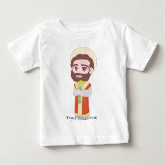 Católico lindo de la tarjeta del día de San T-shirt