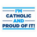 Católico orgulloso postal
