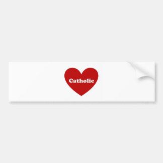 Católico Pegatina Para Auto