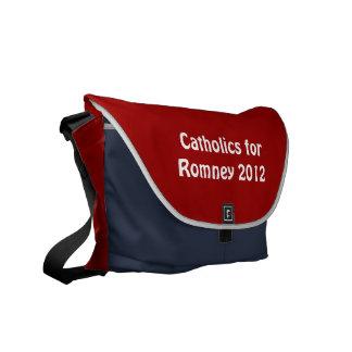 Católicos para la bolsa de mensajero del carrito d bolsa de mensajería
