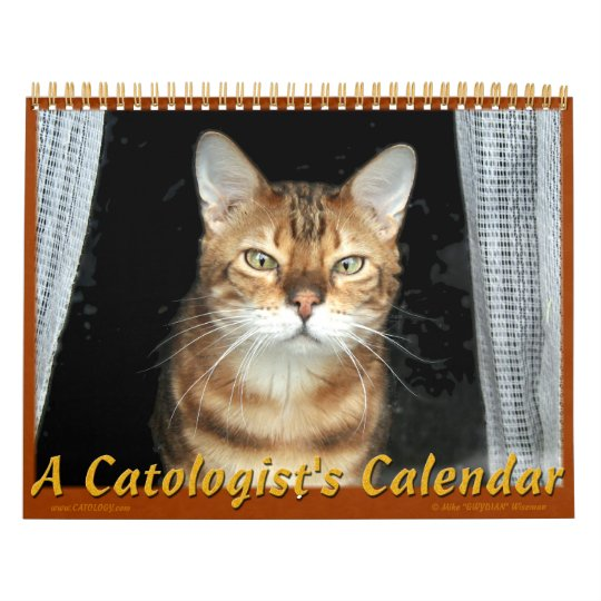 Catologist's Calendar