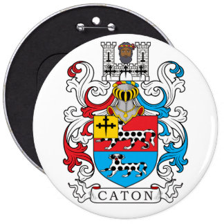 Caton Family Crest Buttons
