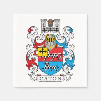 Caton Family Crest Disposable Napkins