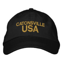 Catonsville USA Cap